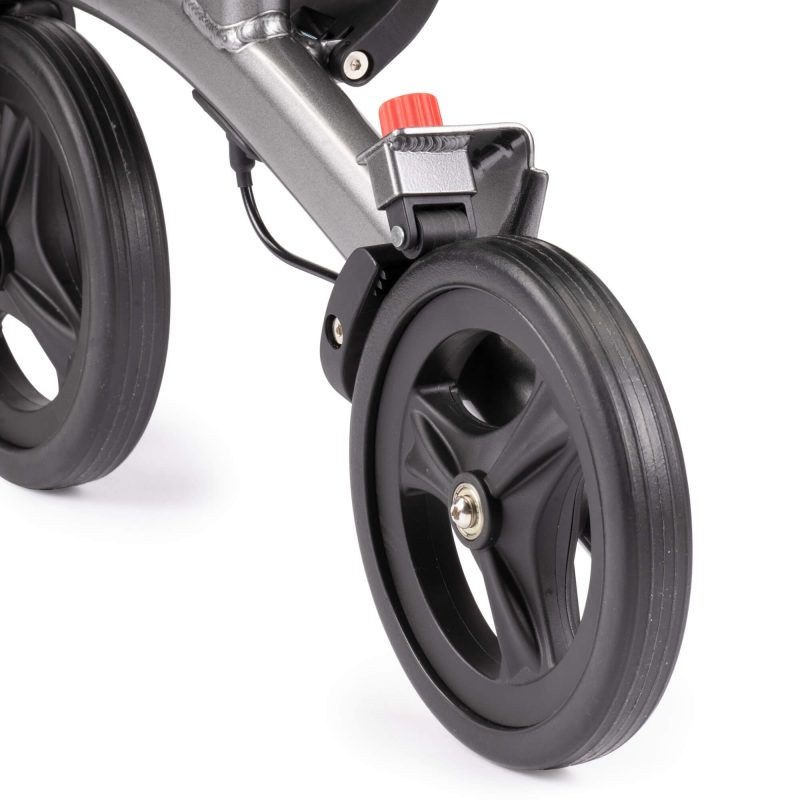 Lucas Rollator with PU tires